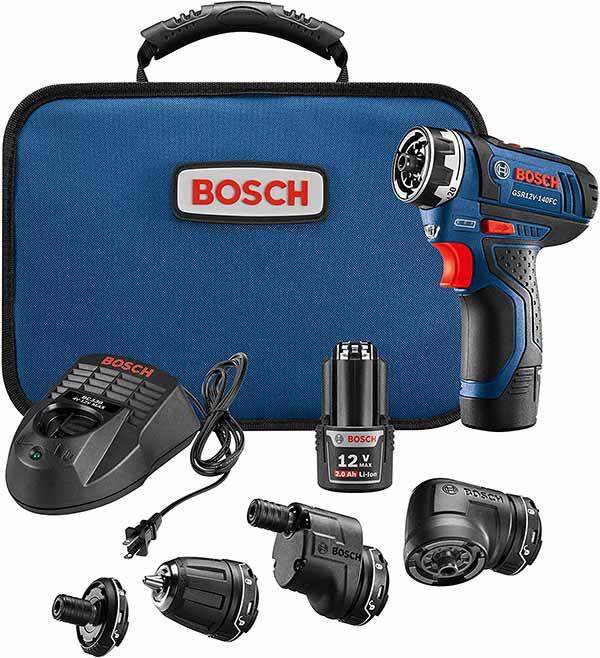 Bosch GSR12V-140FCB22 cordless driver