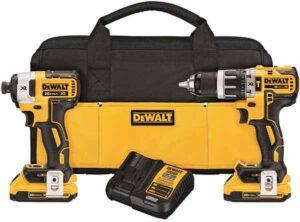 DEWALT 20V Brushless Hammer Drill Combo Kit
