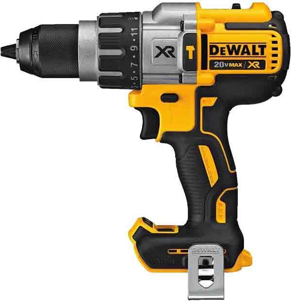 DEWALT 20V MAX XR Hammer Drill, Brushless, 3-Speed, Tool Only (DCD996B)