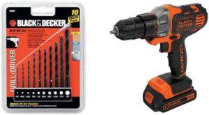 BLACK DECKER Drill Set