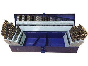 Drill America 115 Piece Heavy Duty Drill Bits Set KFD Series