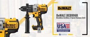DeWALT DCD996B Brushless Cordless 3-Speed Hammer Drill