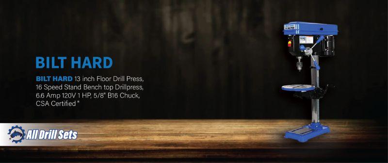 BILT HARD 13 inch Floor Benchtop Drill Press