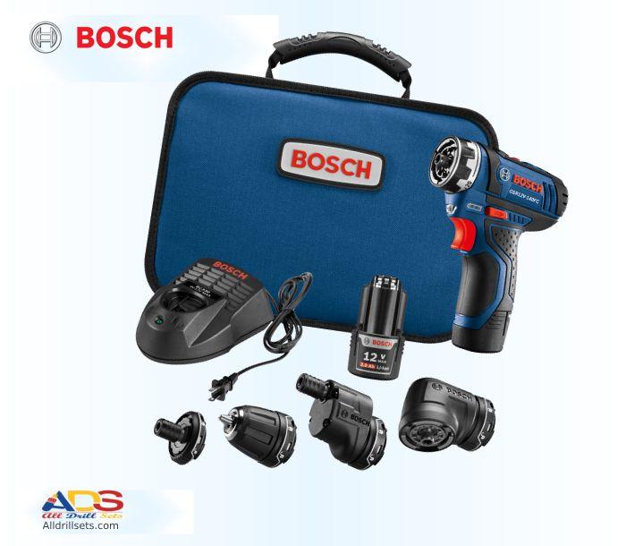 Bosch GSR12V 140FCB22 5 Functions