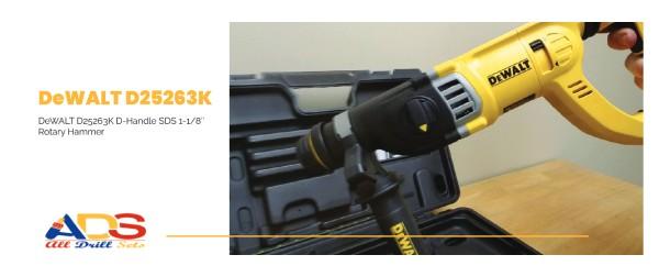 DeWALT D25263K Corded Hammer Drill