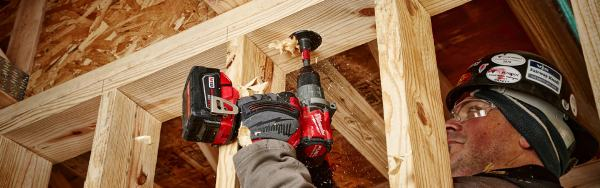 Drilling With Milwaukee Tool