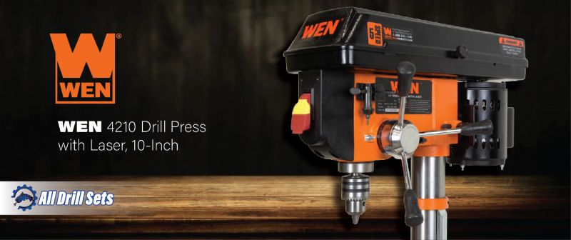 WEN 4210 Benchtop Drill Press with Laser