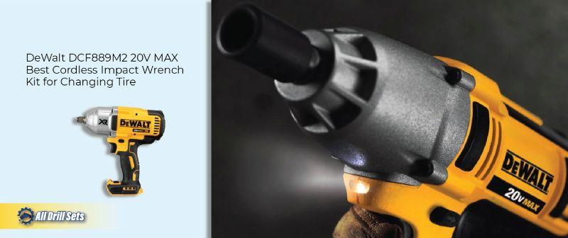DeWalt DCF889M2 20V MAX - Cordless Impact Wrench