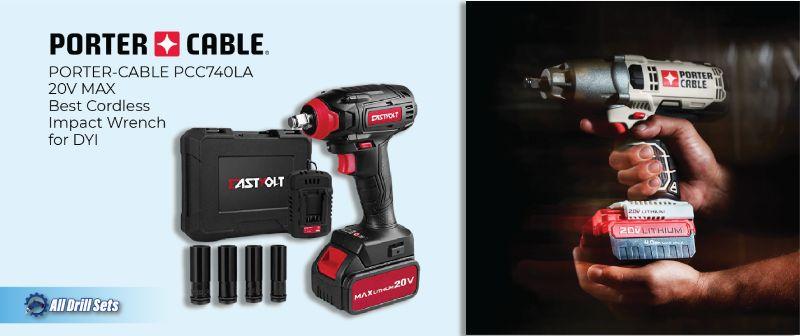 PORTER-CABLE PCC740LA 20V MAX Best Cordless Impact