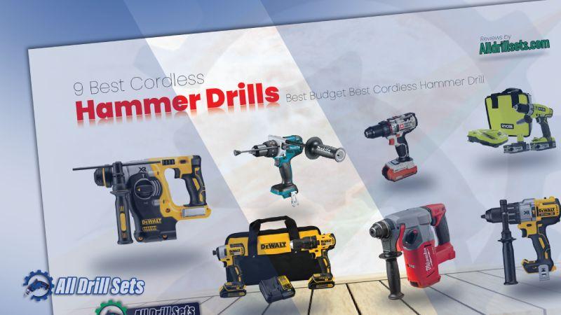 9 Best Cordless Hammer Drills