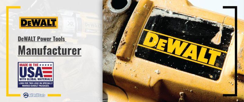 DeWALT Power Tools Manufacturer