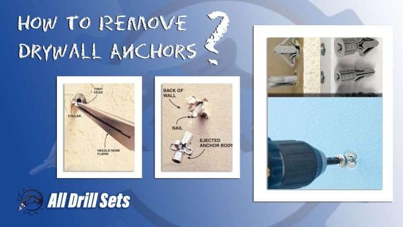 How To Remove Drywall Anchors