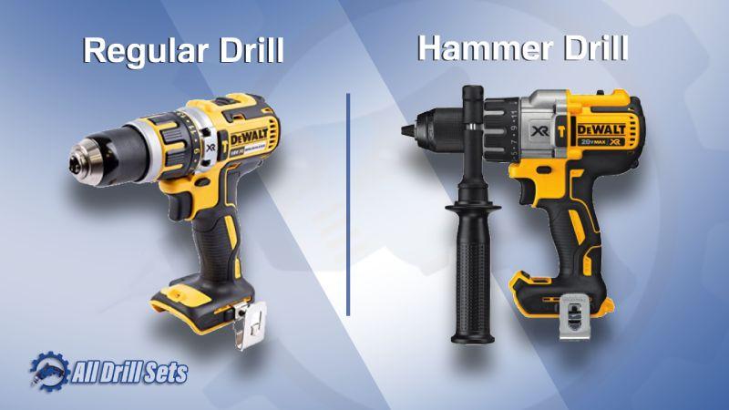 Regular Drill And Hammer Drill