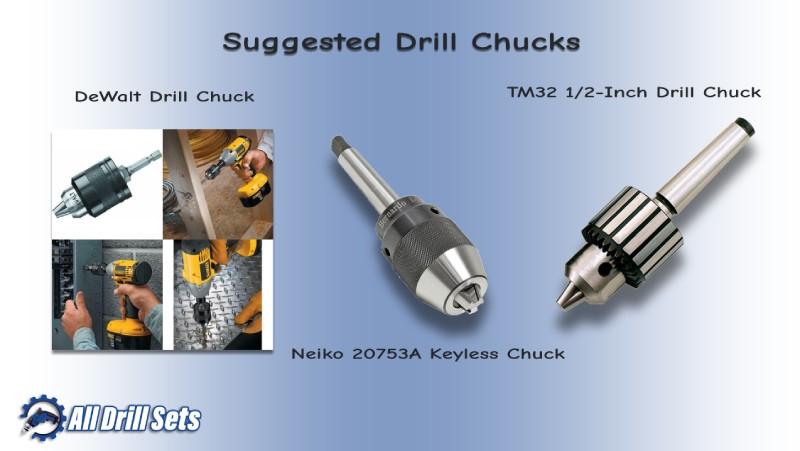Suggested Drill Chucks